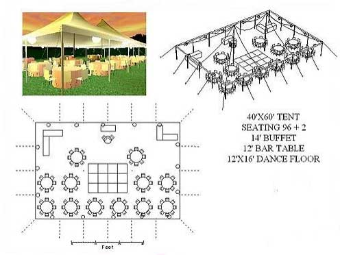 Party CAD planning services at Party Plus Events in the Chicago area