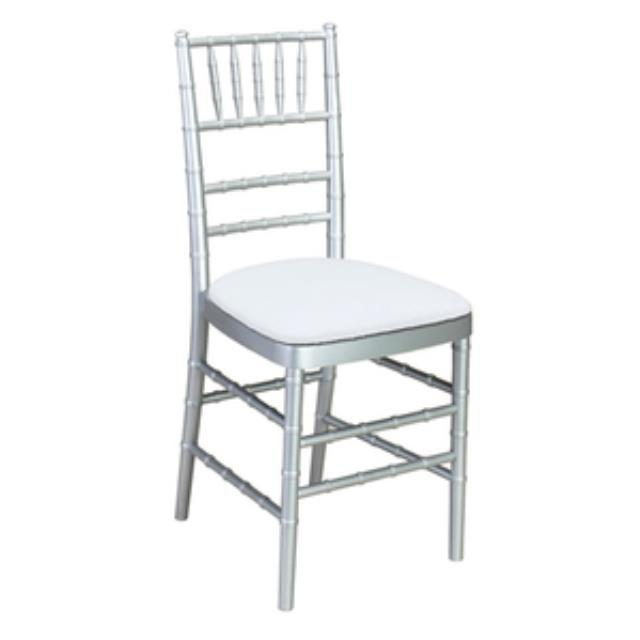 Where to find CHIAVARI CHAIR, SILVER in Palatine