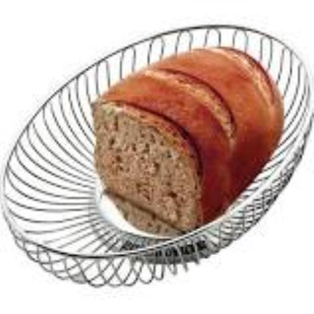 Where to find BASKET, BREAD OVAL NICKEL in Palatine