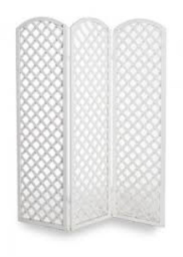 Where to find WHITE LATTICE ROOM DIVIDER in Palatine