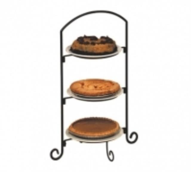 Tray 3 Tier Black Plate Rentals Palatine Il Where To Rent