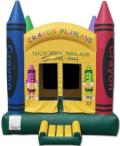 Rental store for MOONWALK, CRAYON 15x15 in Palatine IL