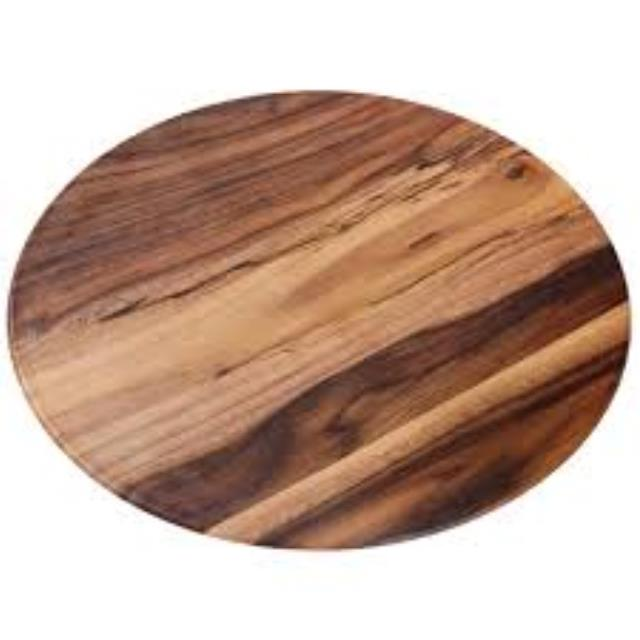 Where to find MELAMINE WOOD, SERVING BOARD, 21  DIA in Palatine