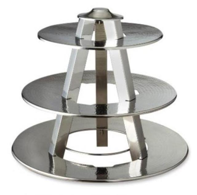 Where to find TRAY, 3 TIER HAMMERED in Palatine