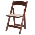 Rental store for GARDEN CHAIR, FRUITWOOD WOOD in Palatine IL