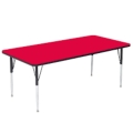 Rental store for CHILDREN S TABLE, RED PLASTIC 6FT in Palatine IL