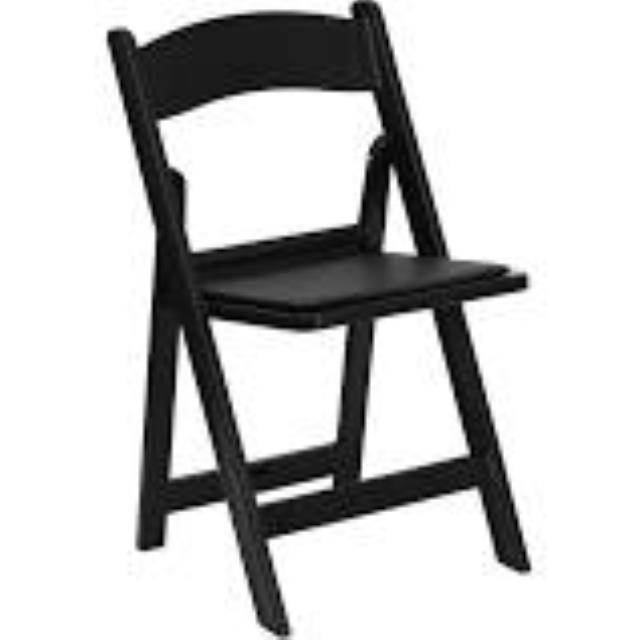 Where to find GARDEN CHAIR, BLACK RESIN in Palatine