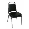 Rental store for STACKING CHAIR, BLACK in Palatine IL