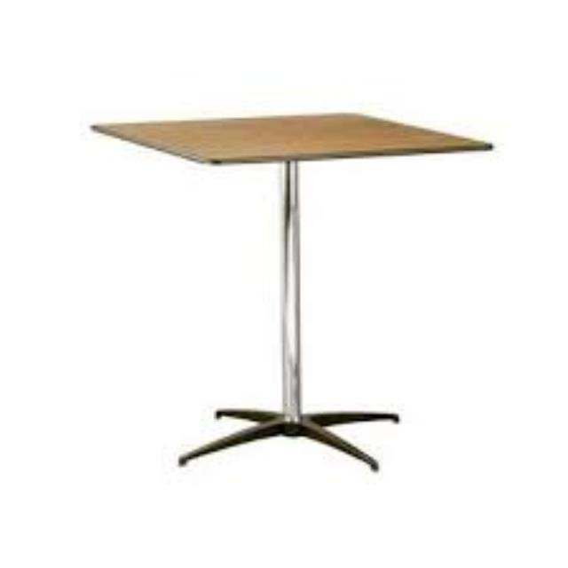 Where to find TABLE, 30  SQUARE PED, 42  TALL in Palatine