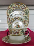 Rental store for SAUCER, 6.25 , VICTORIA FLORAL CHINA in Palatine IL