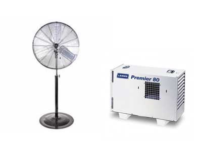 Rent Heaters, Fans & Generators